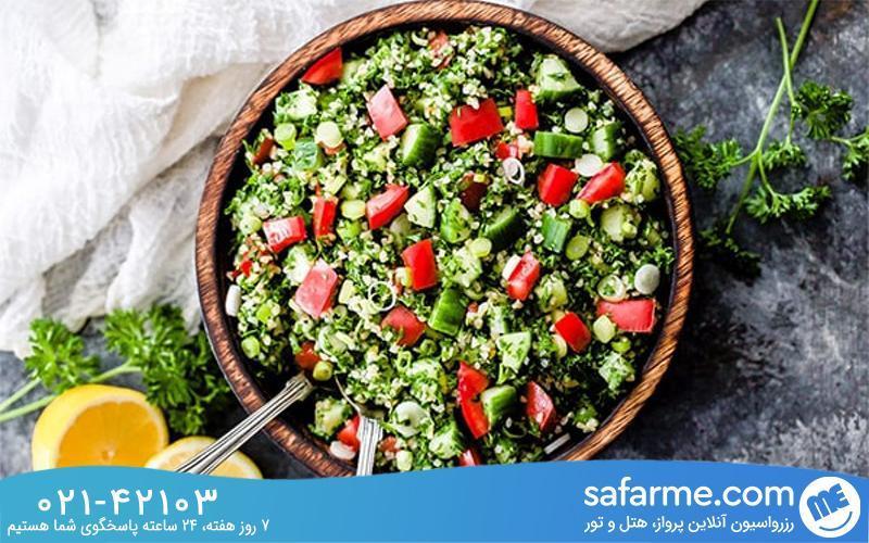 معروف ترین غذاهای لبنانی در سفر به لبنان کدامند؟
