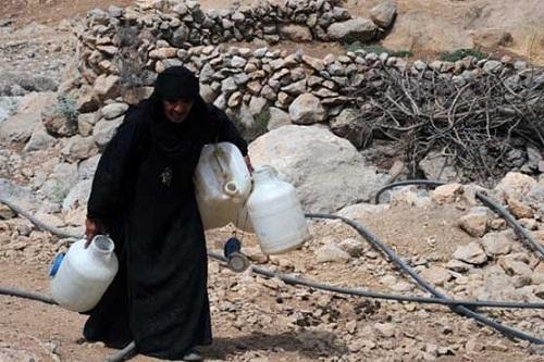 گزارشی از شرایط نامناسب آبرسانی در روستای شهرویی بهبهان