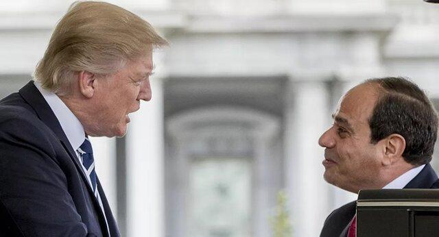 ترامپ از کوشش های السیسی در مساله لیبی تقدیر کرد