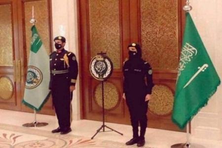 تصویر سرباز زن عضو گارد سلطنتی عربستان سعودی ترند شد