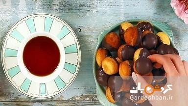 طرز تهیه شیرینی توپی پانابایتز با دسر پاناکوتا