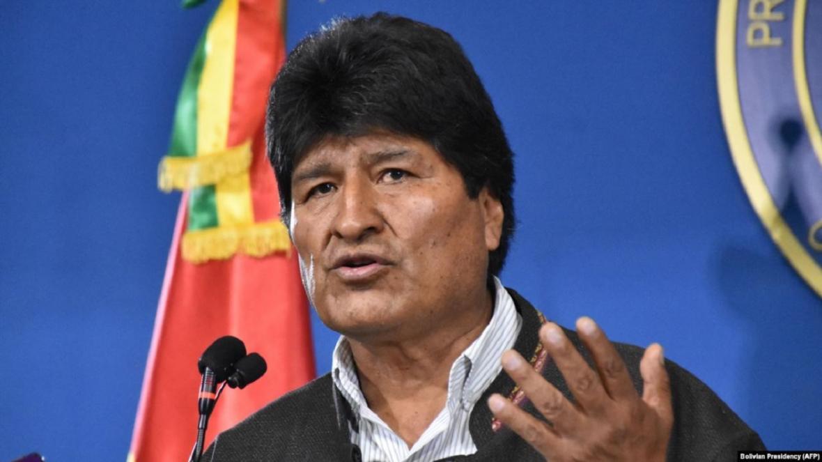 مورالس: به بولیوی بازمی گردم