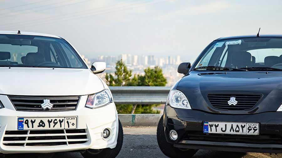 مقایسه دو خودرو سدان کوچک سایپا