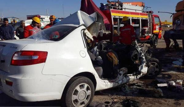 خبرنگاران سانحه رانندگی در محور بیستون 2 کشته به جا گذاشت