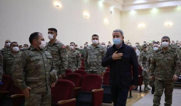 سفر وزیر دفاع ترکیه به جمهوری آذربایجان