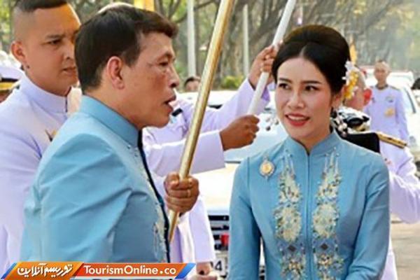 ترفیع مقام برای معشوقه 36 ساله پادشاه 68 ساله تایلند!
