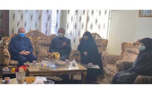 حضور محمدزاده در منزل مرحوم دیانی