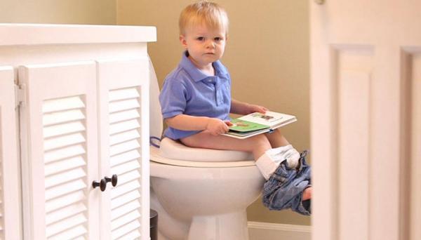 آموزش توالت رفتن به بچه ها در یک هفته