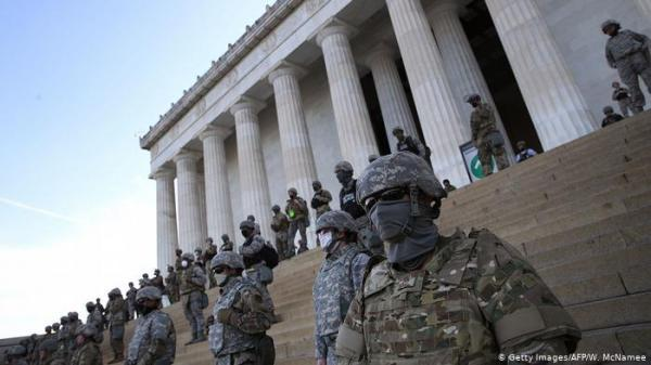 احتمال ادامه حضور گارد ملی در واشنگتن