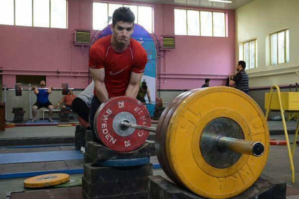 اردونشینان تیم وزنه برداری جوانان معین شدند
