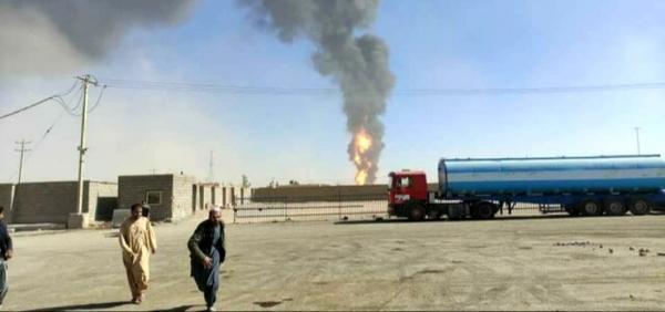 وزارت نیرو ، آسیب دیدگی سیم های شبکه برق میان ایران و افغانستان در انفجار اخیر