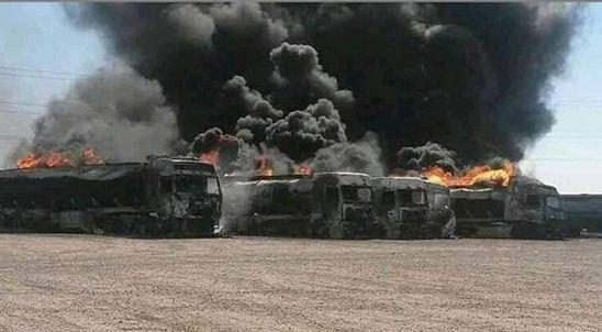 احتمال انفجار 100 تا 500 کامیون در گمرگ اسلام قلعه
