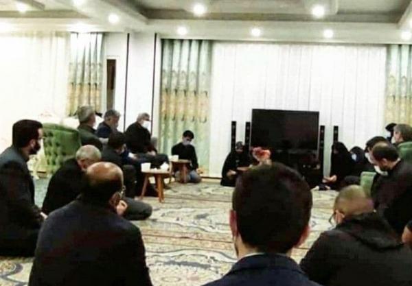 سردار قاآنی با خانواده شهید مهدی بختیاری دیدار کرد خبرنگاران