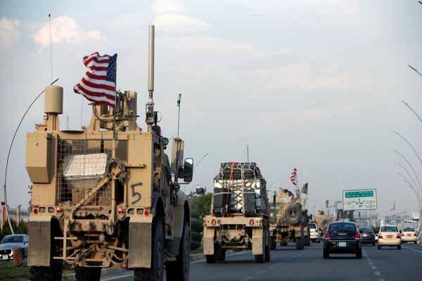 چهارمین کاروان لجستیک نظامیان آمریکا هدف قرار گرفت