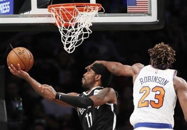 لیگ NBA، پیروزی بروکلین در غیاب هاردن و دورانت، کلیپرز در خانه باخت