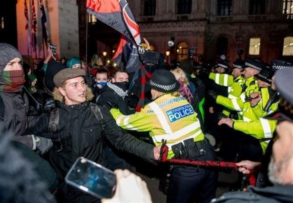 تظاهرات هزاران انگلیسی علیه لایحه جنجالی حمایت از پلیس در برابر معترضان