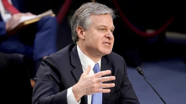 مدیر اف. بی. آی: هر 10 ساعت یکبار درباره چین تحقیقاتی شروع می کنیم