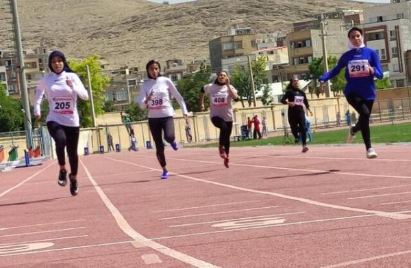 خاتمه روز نخست دوومیدانی قهرمانی ایران، دختران نوجوان رکورد شکستند