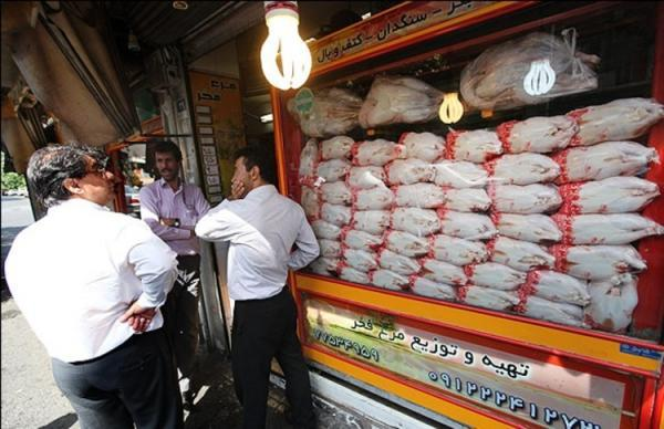 شرایط قیمت مرغ در بازار امروز 7 دی 99
