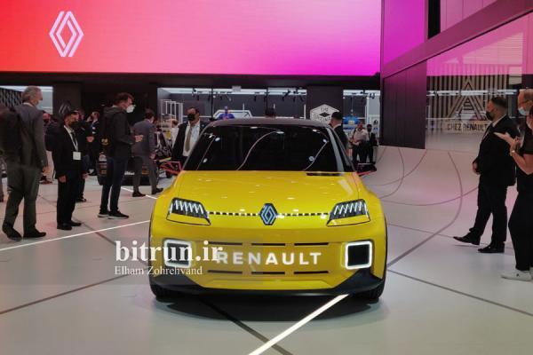تور آلمان: رنو 5 تازه در نمایشگاه خودرو مونیخ ، سوپر مینی خاطره انگیز برقی شد